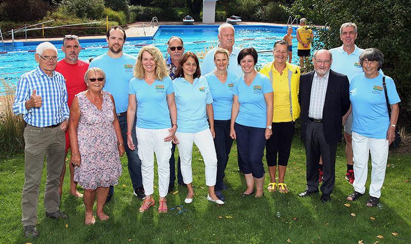 Der Vorstand des Förderverein Parkschwimmbad Rheinau